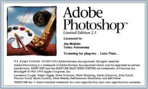 Photoshop v2.5